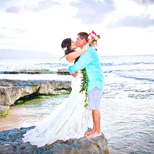 Hawaii Beach Wedding on the North Shore