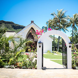 Waikiki Leia Wedding Chapel