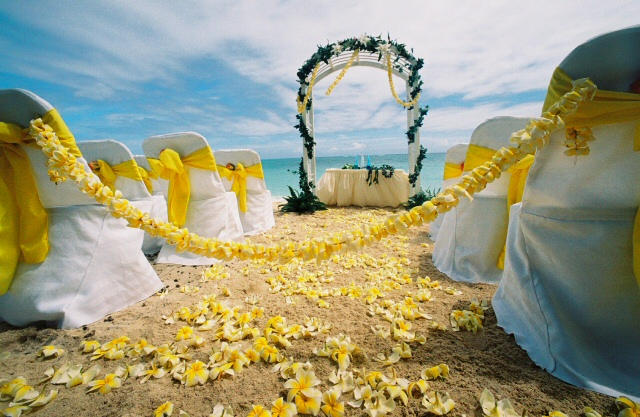 Honolulu Beach Weddings